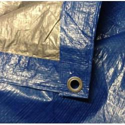Тент 4х6 кв.м тарпаулиновый с металлическими люверсами 90gm2