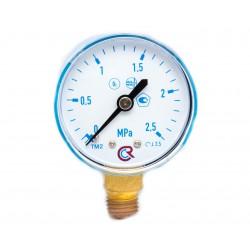 Манометр углекислотный 0-16МПа .