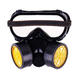 Промышленная химическая газопылезащитная краска с двойным респиратором с защитными очками от BuyinCoins