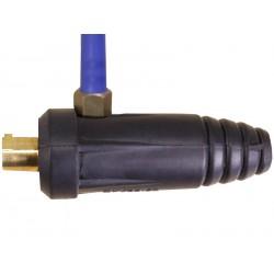 Переходник для TIG горелки, баенентный разъем 35-50 и резьба M16*15 (Длина газовой трубки 30 см)
