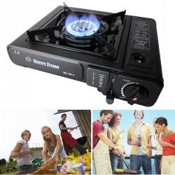 Портативная газовая плита-обогреватель Happy Home-BDZ-155-A с керамической инфракр