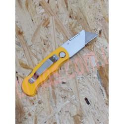 Нож канцилярский с сменным лезвием
