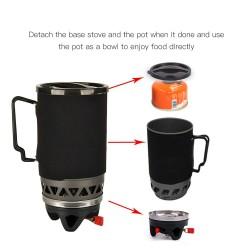Портативкая газовая горелка 1400ml для приготовления пищи в Уссурийске