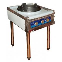 Газовая плита с чугунным таганком ATLAS 35 кВт ( С ПЬЕЗОРОЗЖИГОМ )