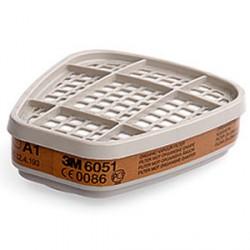 3M™ 6051 A1 Фильтр от органических паров, 1 пара