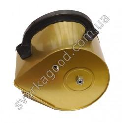 Машинка для нанесения штукатурки (Шарманка) желтая