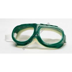 Очки защитные на резинке (зеленые)